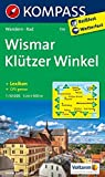 KOMPASS Wanderkarte Wismar - Klützer Winkel: Wanderkarte mit KOMPASS-Lexikon und Radwegen. GPS-genau. 1:50000: Wandelkaart 1:50 000 (KOMPASS-Wanderkarten, Band 734)