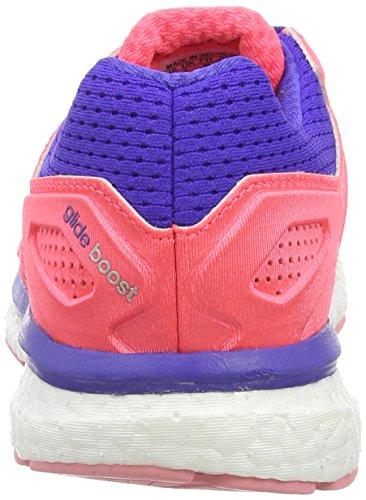 adidas Supernova Glide Boost 7, Chaussures de Running Femme Rouge (boo Flared/fla)