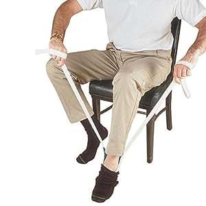 Chaussettes - et Enfile-chaussette en plastique souple