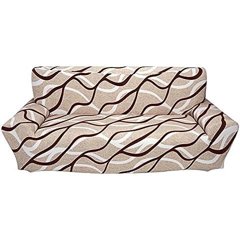 Muebles Sofá protector elástico del estiramiento Funda de Sofá ,cubierta de sofá (3 plazas,