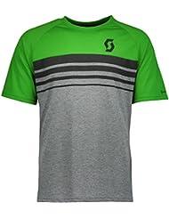 Scott Trail 80 DRI Fahrrad T-Shirt Trikot kurz grau/grün 2017