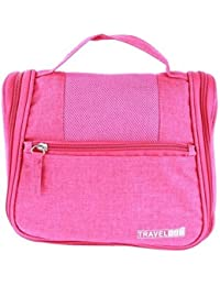 Glive's Toiletry Bag For Men & Women - Hanging Toiletries Kit For Makeup, Cosmetic, Shaving, Best For Travel Accessories