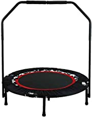 mymotto Sport Fitness Gartentrampolin Jump Trampolin mit Haltegriff bis 150 kg Winkel Einstellbar (Max 18 °) Indoor/Outdoor