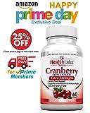 Health Labs Nutra 50:1 dreifachstarkes Cranberry Konzentrat mit Vitamin C&E – verbessert die Gesundheit der Harnröhre und unterstützt das Immunsystem