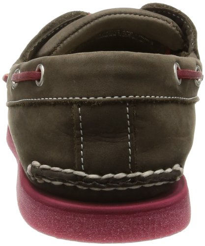 Timberland Classic 2 Eye Brown 6508A Braun/Major Brown and Red