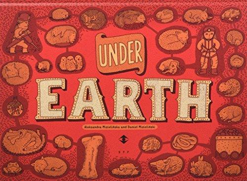 Under Earth, Under Water por Aleksandra Mizielinski; Daniel Mizielinski