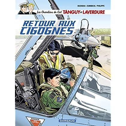 Les Chevaliers du ciel Tanguy et Laverdure - tome 8 - Retour aux cigognes