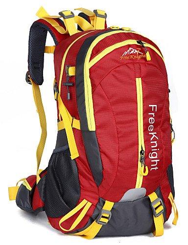 HWB/ 40 L Tourenrucksäcke/Rucksack / Travel Organizer Camping & Wandern Draußen Wasserdicht / Schnell abtrocknend / tragbar / Atmungsaktiv Orange