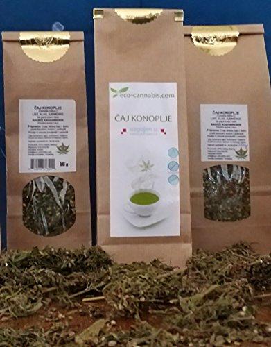 Hanftee CBD Öl Tee Bio Eco Bio 500 g (Blätter und Blüten) Hanf Kräuter Knospen Schnitt Finola hoher CBD Best Geschmack. …