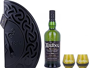 Ardbeg 10 years Quadrant w/ 2 cups by Ardbeg