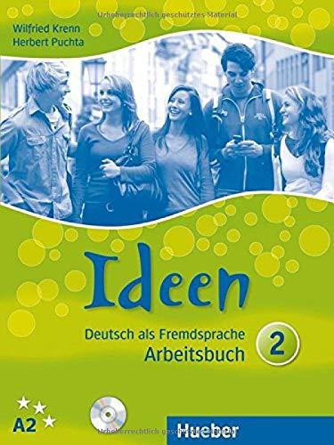 Ideen. Arbeitsbuch. Con CD Audio. Per le Scuole superiori: IDEEN 2 Arbeitsbuch+CD(ejerc.+CD)
