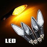 Gli indicatori luminosi di indicatore di direzione del giratore di 4pcs 15 LED del motociclo / della bici lampeggiano gli indicatori luminosi chiari dell