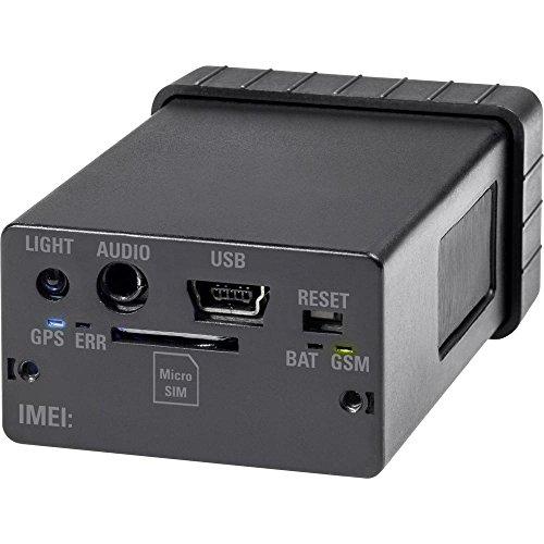 Renkforce GSM-Alarmanlage mit GPS-Tracking GX-111 Multifunktionstracker Schwarz (Alarmanlage Mit Gps-tracking)