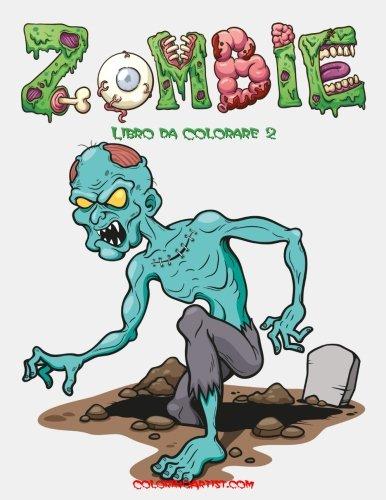 Zombie Libro da Colorare 2