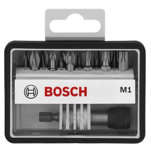 Bosch Pro 12+1tlg. Schrauberbit-Set Extra Hart f