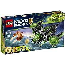 LEGO nexo Knights 72003–Berserker de avión, BELIFLOR ebtes Niños juguete
