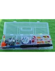 Kit de canne à pêche pour enfants canne à pêche avec moulinet angelbox kinderangelset)