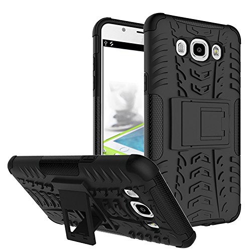 Chevron-Hybrid-Military-Grade-Armor-Kick-Stand-Back-Cover-Case-for-Samsung-Galaxy-On8-Black
