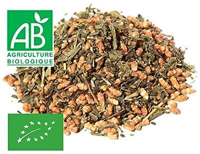 Thé vert Genmaicha Bio 200g - au riz soufflé