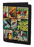 Marvel Monedero, negro (negro) - MARVEL004003