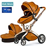 Hot Mom , Baby 2 in 1 passeggino con culla marrone, 2017 immagine