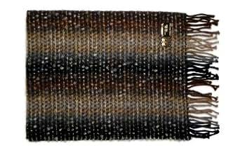 Leather Italia Unisex Lambswool Patchwork Scarf (ILS109) Multicoloured
