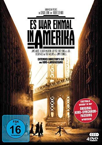 Es war einmal in Amerika (Extended Director's Cut + Kinolangfassung inkl. Original-Synchro) [4 DVDs]