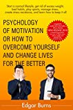 Best Books On How To Start An - Psychology of motivation: How to overcome yourself Review