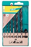 Wolfcraft 7626000 Foret à bois CV, 7 Pièces assorties