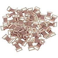 Preisvergleich für HEALIFTY 50 stücke Bandage Aluminium Schnalle Elastische Bandage Clips Stretch Metallklammern für Verschiedene...
