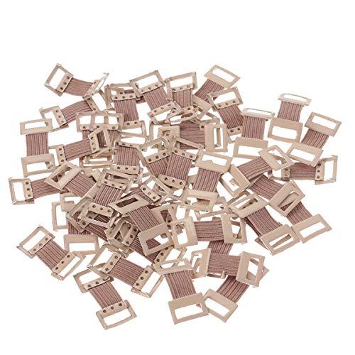 Healifty Elastische Bandagenclips Metallschnallen für verschiedene Arten Bandagen 50 PCS preisvergleich