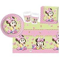 PROCOS 10108564B - Set para Fiesta Infantil - Disney Baby Minnie, tamaño S, 37