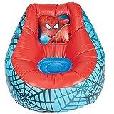 Ready Room 289SDR Spider-Man - Poltrona Gonfiabile da Riposo per Bambini, Pvc, Red, 78 x 78 x 60 cm