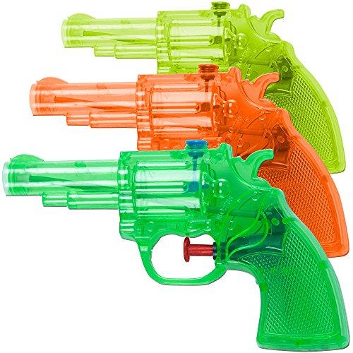 Preisvergleich Produktbild 3x Wasserpistole Wasserspritze Wassergewehr Spritzpistole Wasserkanone 16cm Pool