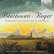 Reger, Beethoven: Serenades for Flute, Violin and Viola