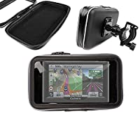 DURAGADGET Exclusive Water-Resistant & Shock-Absorbing Cyclists' Satnav Case & Bike Handlebar GPS Mount - Compatible with the NEW Garmin Nuvi 57 LM, 57 LMT & the Garmin Nuvi 58 LMT