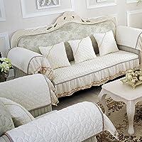 European-style slittamento divano cuscini/Spessa caldo divano/ moda telo copridivano-E 80x160cm(31x63inch)