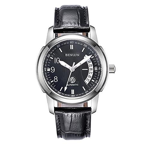 BINLUN - Herren -Armbanduhr- BL0019BS
