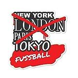 JOllify Aufkleber - FUSSBALL – Farbe: Design: Graffiti Streetart New York