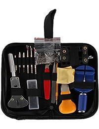 Airtana 145 PCS Kits de Reparación de Reloj Profesional de Herramientas Barra de Resorte