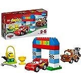 Lego® Duplo® Carstm - 10600 - Jeu De Construction - La Course Classique Disney Pixar CarsTM