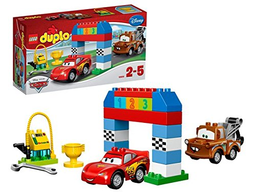 LEGO - Carrera Clásica Disney Pixar Cars, multicolor (10600)