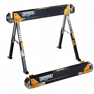 ToughBuilt–C700trabajo caballete caballete altura regulable hasta 650kg)