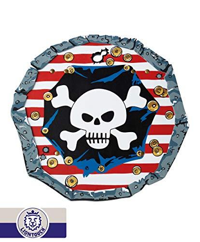 Liontouch 227LT Pirat Rotstreifen Schaumstoff Schild für Kinder | Teil einer Linie