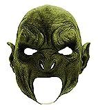 shoperama Latex Maske Ork Vollstrecker Mittelerde Herr der Ringe Fantasy Halloween Horror Latexmaske LARP Cosplay