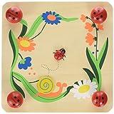 Keycraft Wooden Ladybird Flower Press