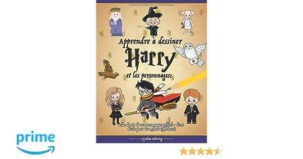 Apprendre à Dessiner Harry Et Les Personnages Plus De 40 De