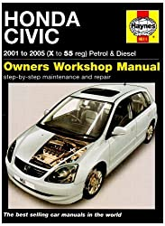 Honda Civic Petrol and Diesel Service and Repair Manual: 2001 to 2005 (Haynes Service and Repair Manuals) by R. M. Jex (2007-11-17)