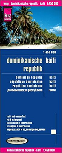 Reise Know-How Landkarte Dominikanische Republik, Haiti (1:450.000): world mapping project