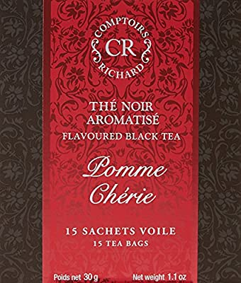 Comptoirs Richard Thé Noir Pomme Chérie 15 Sachets 30 g parent